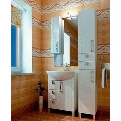 Зеркало-шкаф Triton Кристи 60 L удлиненное
