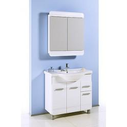 Зеркало-шкаф Aqwella Корсика 74
