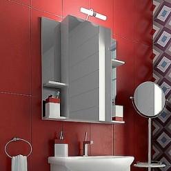 Зеркало-шкаф Triton Диана 70 R с полками