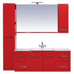 Шкаф Misty Атланта красный R