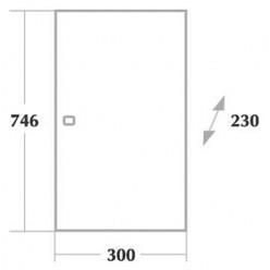 Шкаф Onika Кредо 30 универсальный