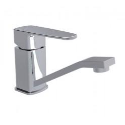 """""""Смарт-Квадро"""" смеситель для умывальника, без донного клапана, картридж 35 мм, хром"""