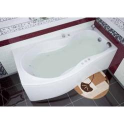 Акриловая гидромассажная ванна (форсунки Шампань) Борнео (Borneo) 170×90 левая