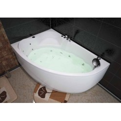 Акриловая гидромассажная ванна (форсунки Шампань) Майорка (Mayorka) 150×100 левая