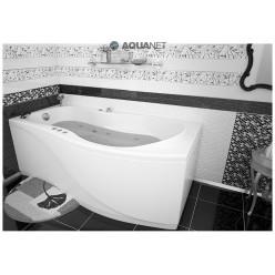 Акриловая гидромассажная ванна Борнео (Borneo) 170×90 правая