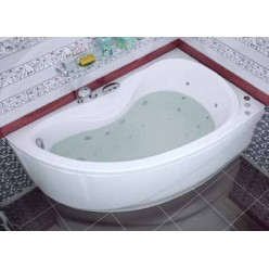 Акриловая ванна Мальдива (Maldiva) 150×90 левая