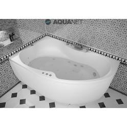 Акриловая ванна Капри (Capri) 160×100 левая