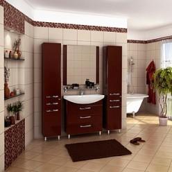 Зеркало Акватон Ария 80 темно-коричневое
