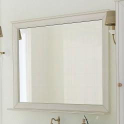 Зеркало Акватон Беатриче 105 слоновая кость с патиной