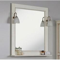 Зеркало Акватон Жерона 85 белое золото