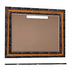 Зеркало Misty Fresko 105 черное краколет