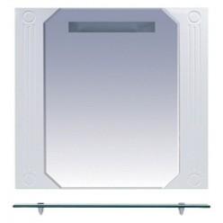 Зеркало Misty Виола 80 с полочкой и подсветкой