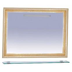 Зеркало Misty Fresko 120 белое краколет