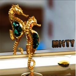Зеркало Misty Гранд Lux 60 золотая кожа флораль