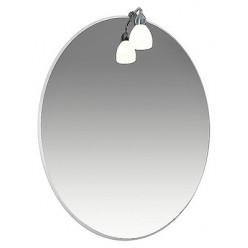 Зеркало Triton Лира 80 с подсветкой
