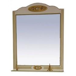 Зеркало Misty Roma 75 бежевая патина