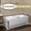 """Акриловые ванны с гидромассажем """"Radomir Standard"""""""