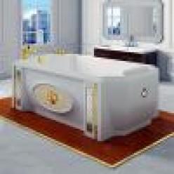 """Акриловая ванна """"Эстелона"""" с панелью"""