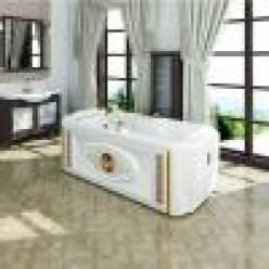 """Акриловая ванна """"Фернандо"""" с панелью"""