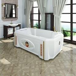 """Акриловая ванна """"Фонтенбло"""" с панелью"""