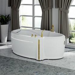 """Акриловая ванна """"Ницца"""" с панелью"""