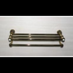 Полотенцедержатель с полочкой (bronze)
