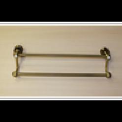 Полотенцедержатель двойной (bronze)