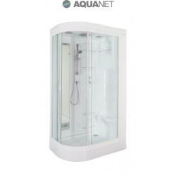 Душевая кабина Aquanet Hawaii 122×76 L, без пара, без гидромассажа, стекло прозрачное