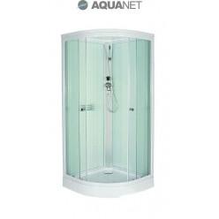 Душевая кабина Aquanet GT-230 80х80, стекло матовое, белая задняя стенка