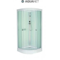 Душевая кабина Aquanet GT-230 80х80, стекло матовое, серая задняя стенка