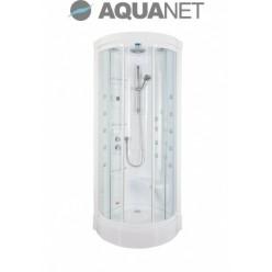 Душевая кабина Aquanet Malibu 86х86, с гидромассажем, стекло прозрачное