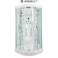 Душевая кабина Aquanet FIJI New 95х95, с паром, стекло прозрачное