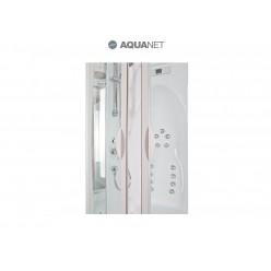 Душевая кабина Aquanet Taiti 110×110 без пара с гидромассажем, стекло матовое