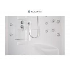 Душевая кабина Aquanet Malibu 86х86, с паром, стекло прозрачное