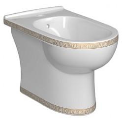 Биде напольное Della Globus версаче золото