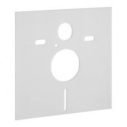 Комплект Инсталляция Geberit Duofix Платтенбау 458.125.21.1 4 в 1 с кнопкой смыва + Крышка-сиденье IFO с микролифтом + шумоизоляция в подарок