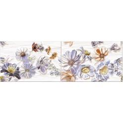 Dream Панно blue Floret (компл. из 2 шт) 60х20