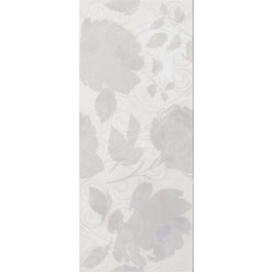Inserto Bloom grigio Декор 30,5x72,5