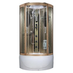 Душевая кабина Aqua Joy Modern AJ-3960 медная стенка