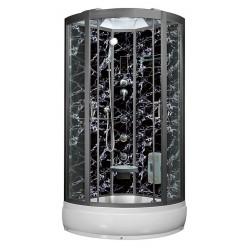Душевая кабина Aqua Joy Modern AJ-3950 темный мрамор