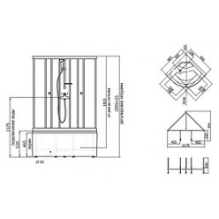 Душевая кабина Triton Стандарт Б2