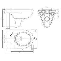 Унитаз подвесной IFO Special RP731300200