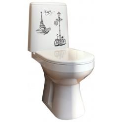 Унитаз-компакт Оскольская керамика Лея велосипед