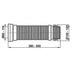 Комплект Унитаз-компакт Santek Лига WH302141 косой выпуск + Гофра AlcaPlast A97 + Рукомойник Cersanit Sigma + Сифон для раковины AlcaPlast A437