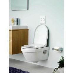 Унитаз подвесной Gustavsberg Hygienic Flush WWC 5G84HR01 безободковый
