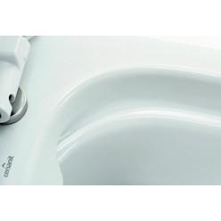 Комплект Унитаз подвесной Cersanit Carina new clean on + Инсталляция Cersanit Link P-IN-MZ-LINK + Кнопка смыва Cersanit Ege P-BU-EGE-Cg хром