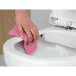 Комплект Унитаз подвесной Gustavsberg Hygienic Flush WWC 5G84HR01 безободковый + Система инсталляции для унитазов Grohe Rapid SL 38775001 4 в 1 с кно