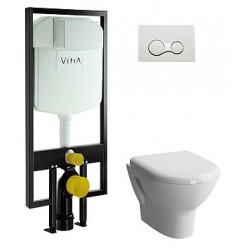 Комплект VitrA Zentrum 9012B003-7206 4 в 1 с микролифтом
