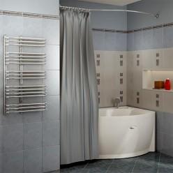 "Карниз Chrome для шторки на ванну ""Миранда"""