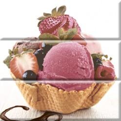 Ice Cream Composicion Панно (из 3-х пл.) 30х30